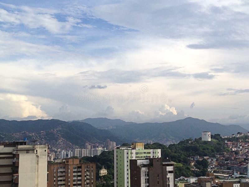 Widok z lotu ptaka Caracas Wenezuela fotografia royalty free
