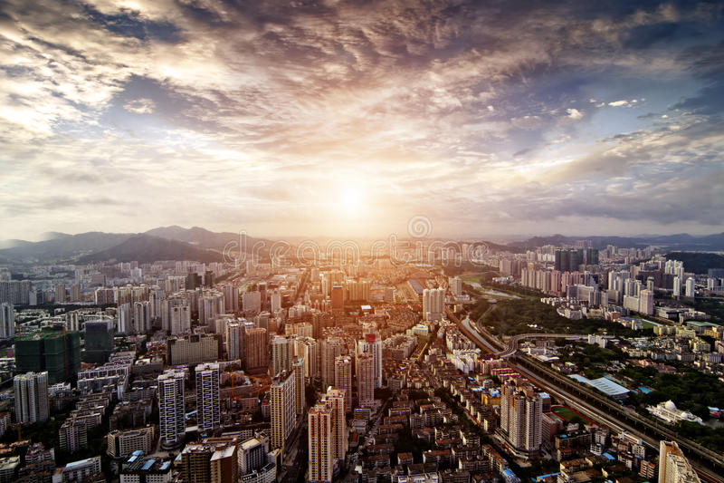 Shenzhen obraz royalty free