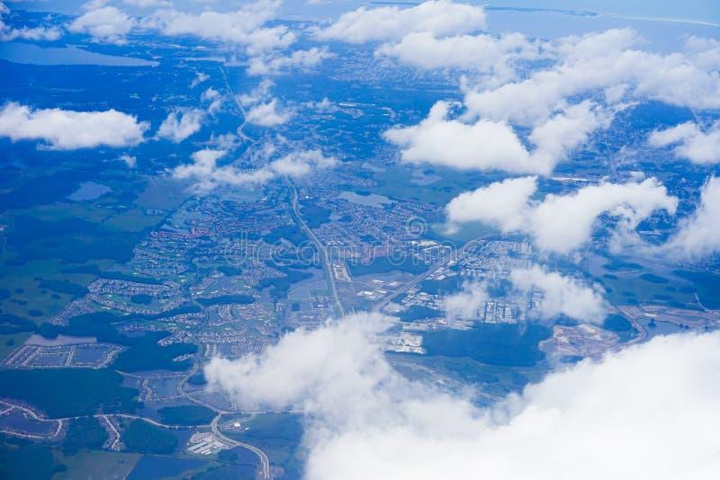 Widok z lotu ptaka Florida zdjęcie stock