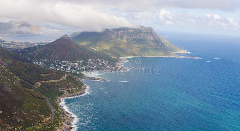 Widok z lotu ptaka Kapsztad †'Południowa Afryka obrazy stock