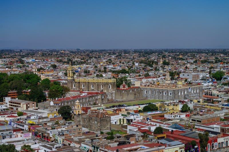 Widok z lotu ptaka klasztor San Gabriel obrazy stock