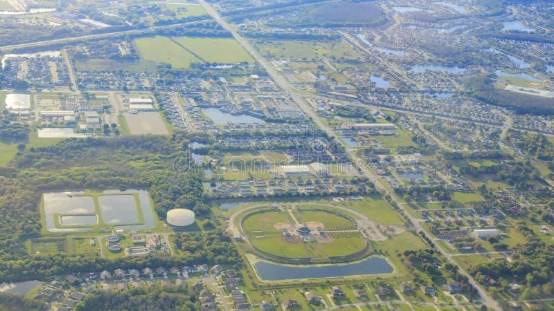 Widok z lotu ptaka Orlando zdjęcie stock