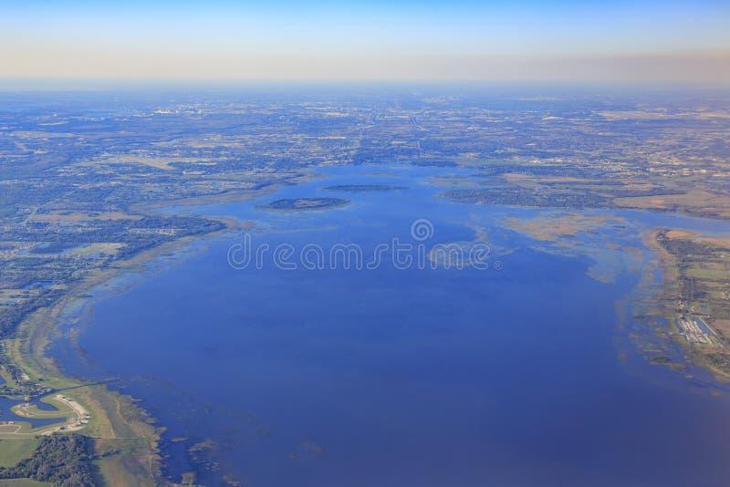 Widok z lotu ptaka Orlando zdjęcie royalty free