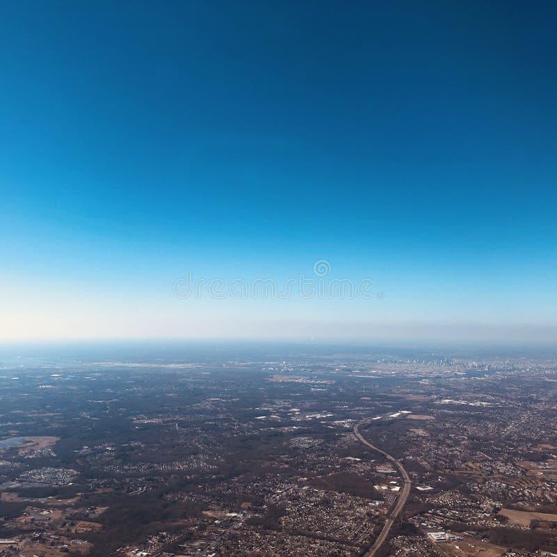Widok Z Lotu Ptaka Pennsylwania obrazy royalty free