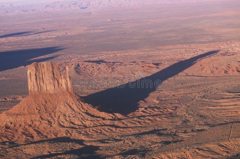 Widok Z Lotu Ptaka Pomnikowa Dolina obraz stock