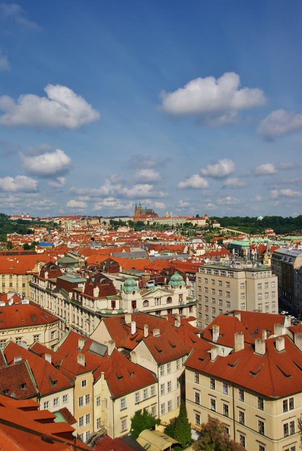 Download Widok Z Lotu Ptaka Stary Praga Obraz Stock - Obraz złożonej z przyciągania, panorama: 57659859