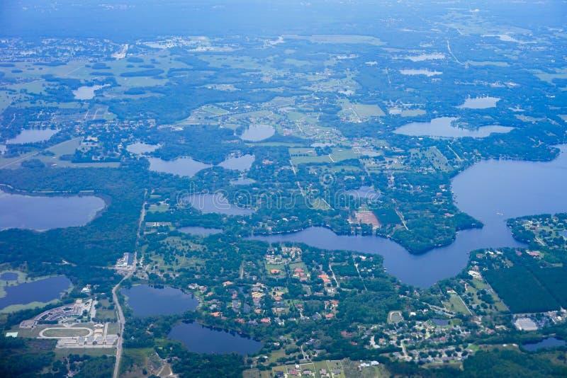 Widok z lotu ptaka Tampa zatoki plaża obrazy royalty free