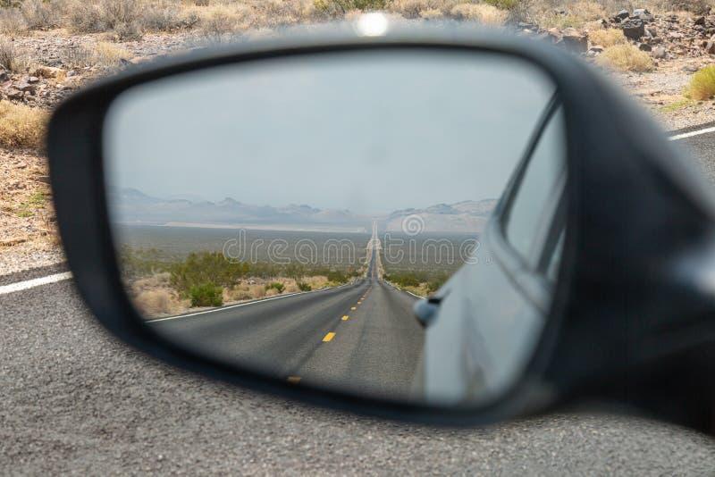 widok z tyłu lustra obrazy stock