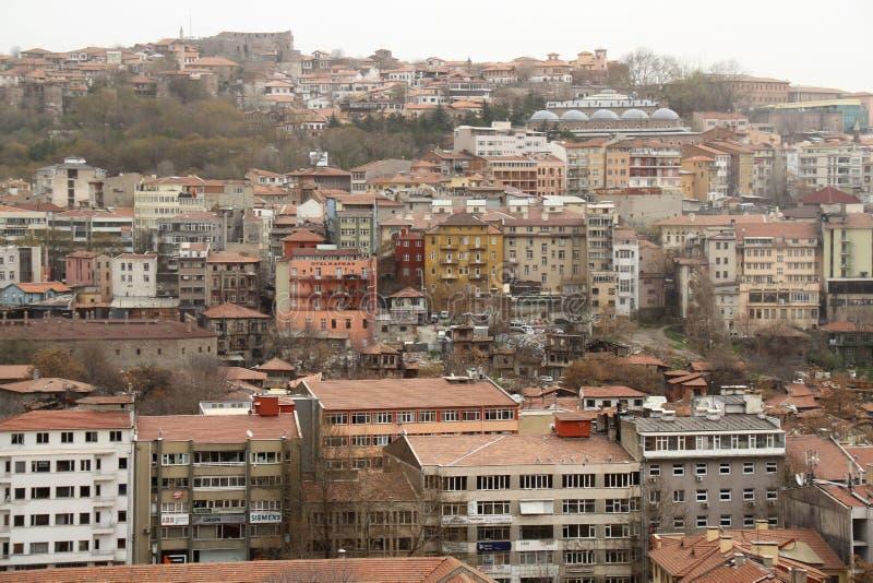 Widok Zadaszać i budynek Ulus, Ankara obrazy stock