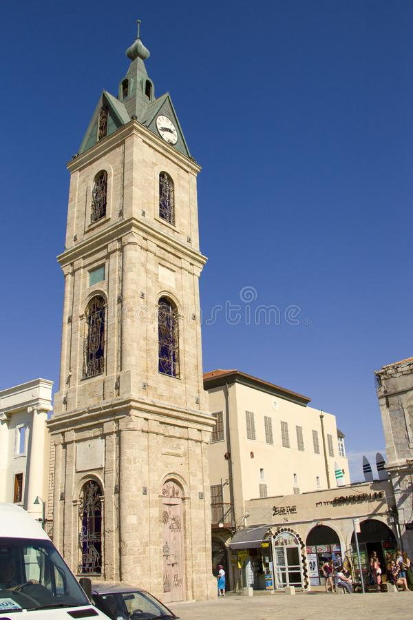 Widoki antyczny miasto Jaffa, Izrael fotografia royalty free