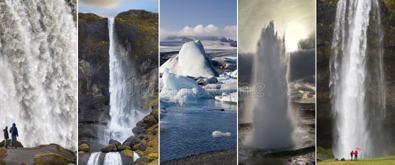 Widoki Iceland obraz stock