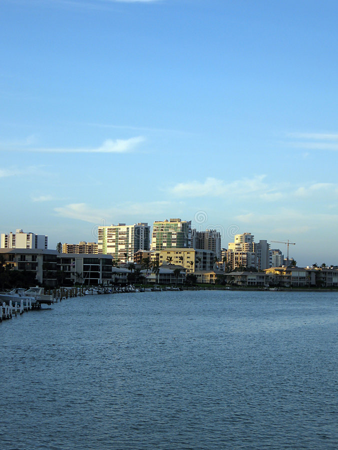 widoki na florydę na południowy zachód zdjęcie stock