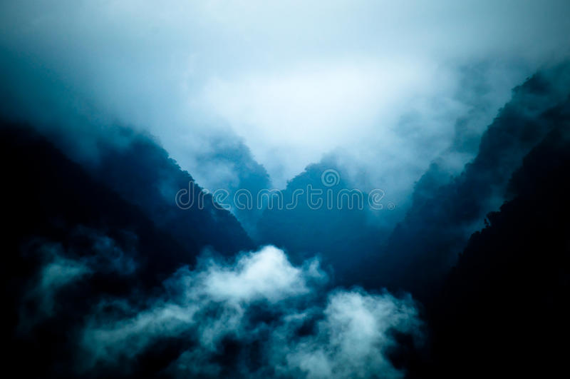 Widoki od Machu Picchu obrazy stock
