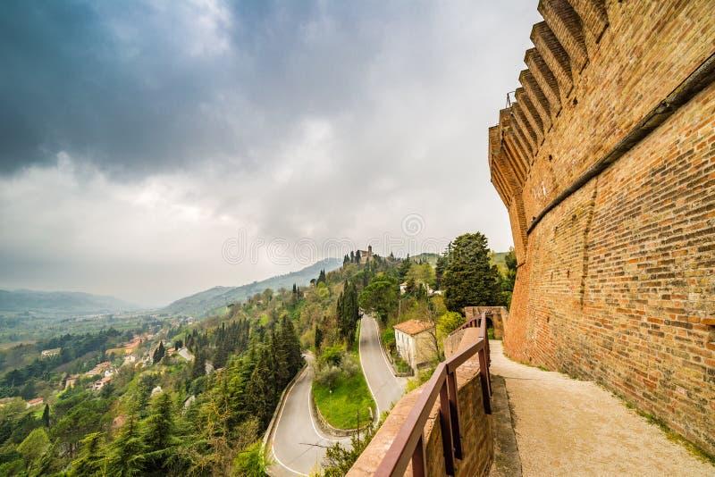 Widoki od ramparts forteca zdjęcie royalty free