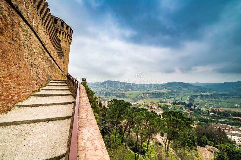 Widoki od ramparts forteca obraz royalty free