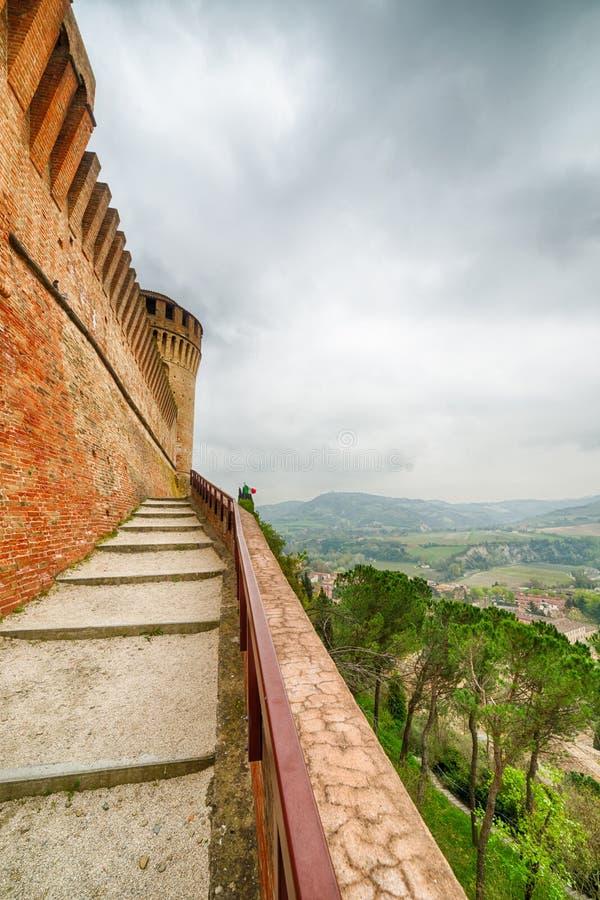 Widoki od ramparts forteca fotografia stock