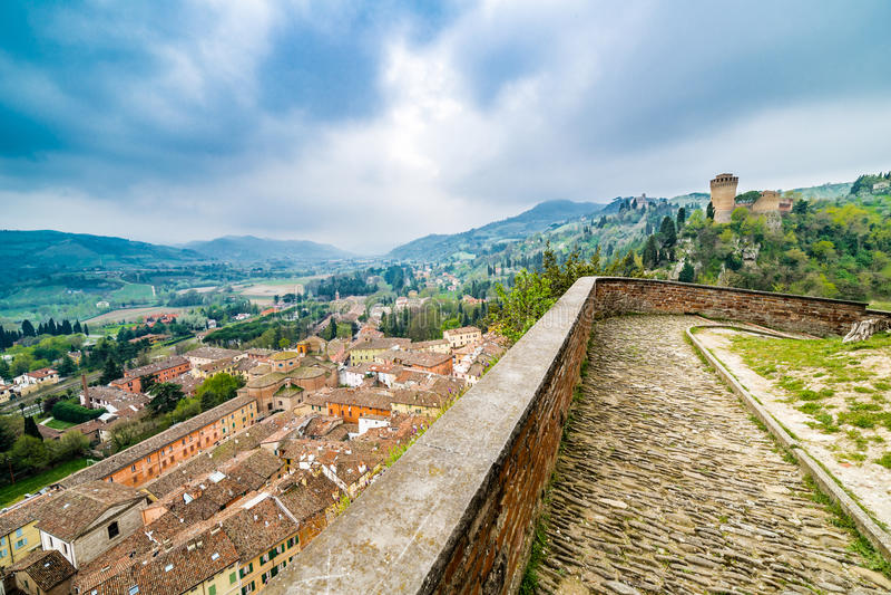 Widoki od ramparts forteca obrazy royalty free