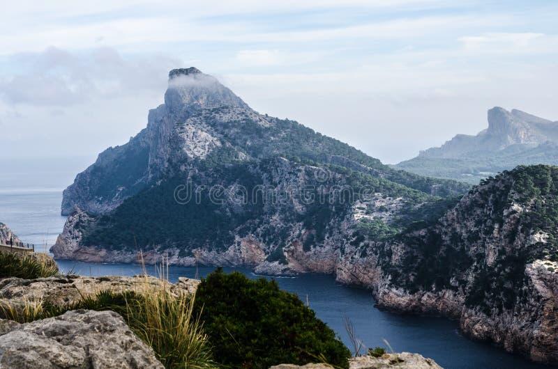 Widoki peleryny formentor, majorca, wyspy balearów, hiszpania 5 zdjęcie royalty free