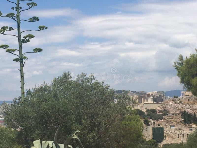 Widoku akropol obrazy royalty free
