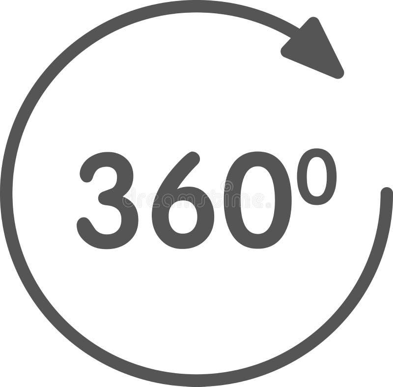 Widoku 3d ikona royalty ilustracja