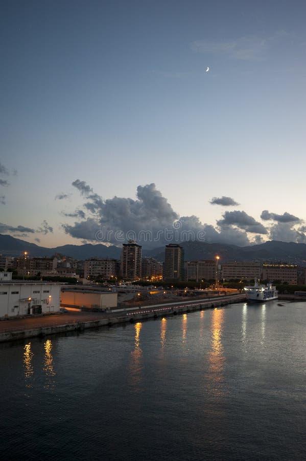 Widoku Palermo port obraz royalty free