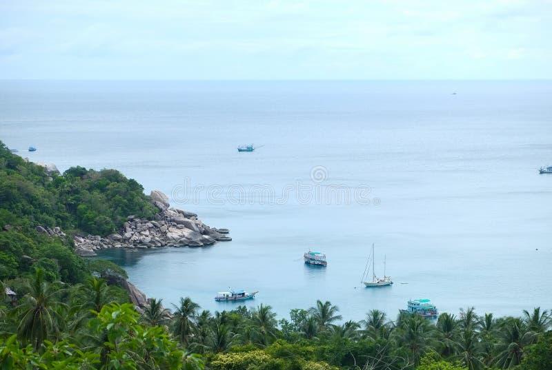 Widoku punkt Tao wyspa obraz royalty free