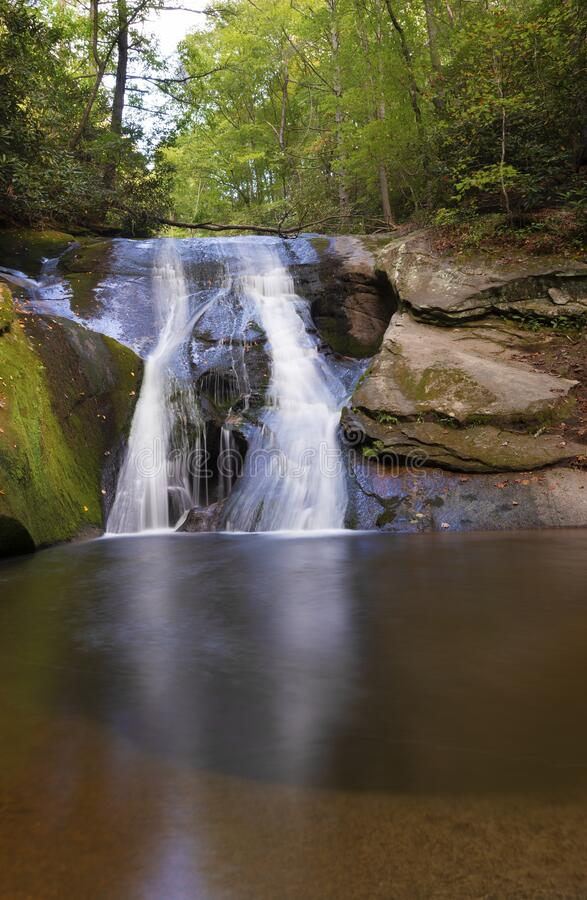 Widow Falls in North Carolina royalty free stock images