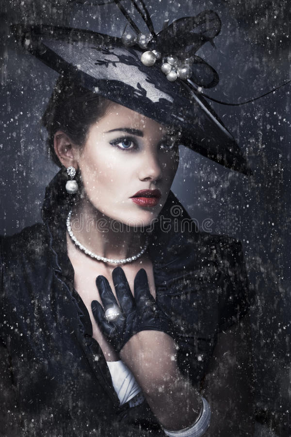 Download Widow At Funeral stock image. Image of evocative, deceased - 24053305
