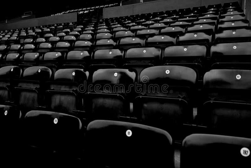 widowni krzesła fotografia royalty free