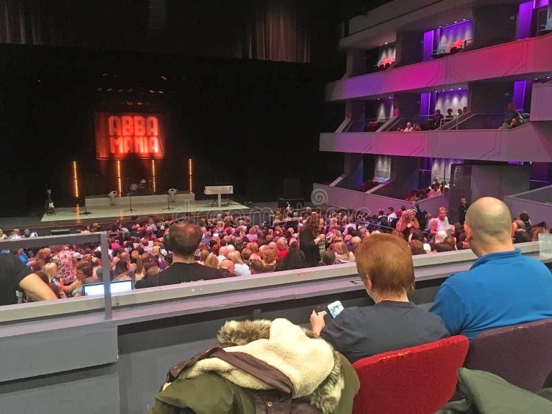 Widownia w theatre zdjęcia stock