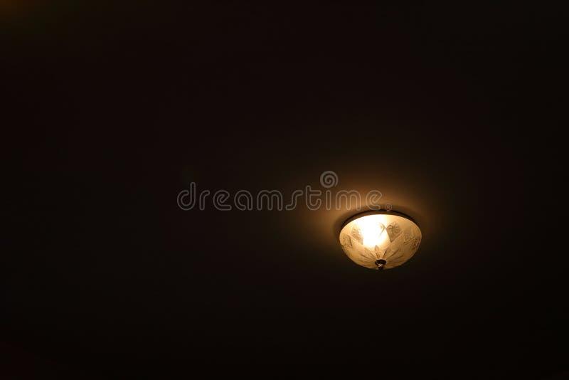 Widzii światło w zmroku zdjęcie royalty free