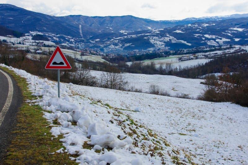 Wieś blisko taro doliny zdjęcie stock
