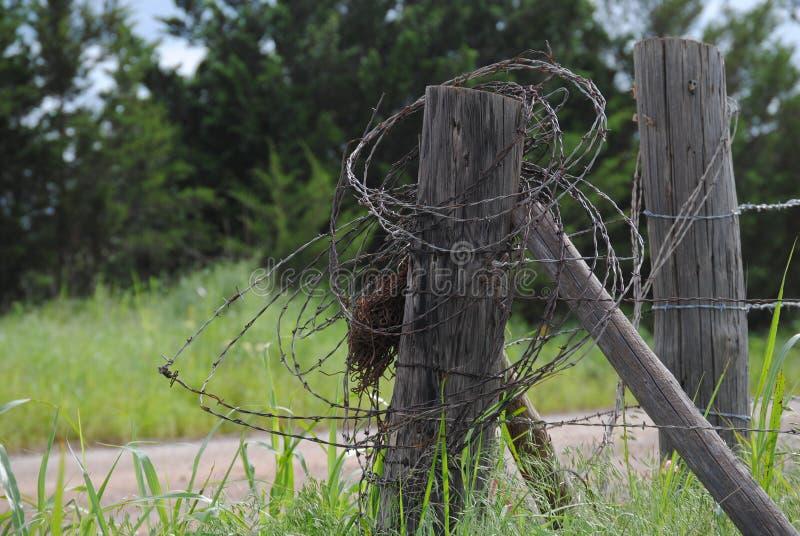 Wieś Cornerpost zdjęcia stock