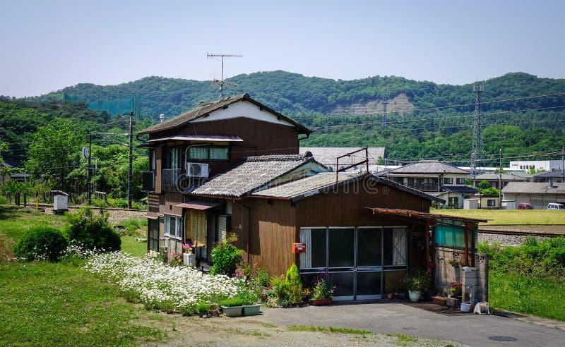 Wieś dom w Ashikaga, Japonia fotografia stock
