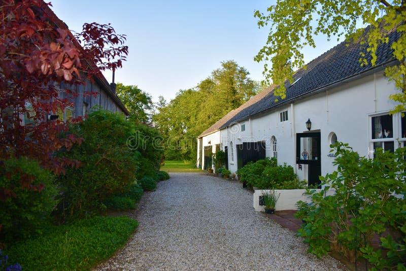 Wieś holandie fotografia stock