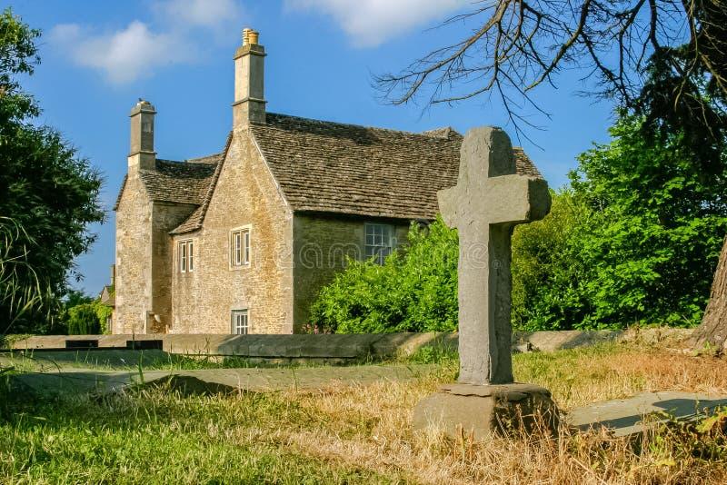 Wieś kościół zdjęcia stock
