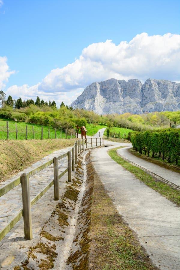 Wieś przy Biscay, Spain zdjęcia stock