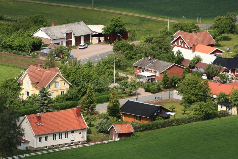 wieś szwedzi obrazy stock