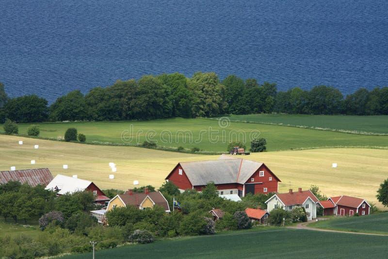 wieś szwedzi zdjęcia stock
