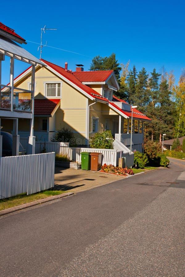 Wieś w Finlandia zdjęcia royalty free