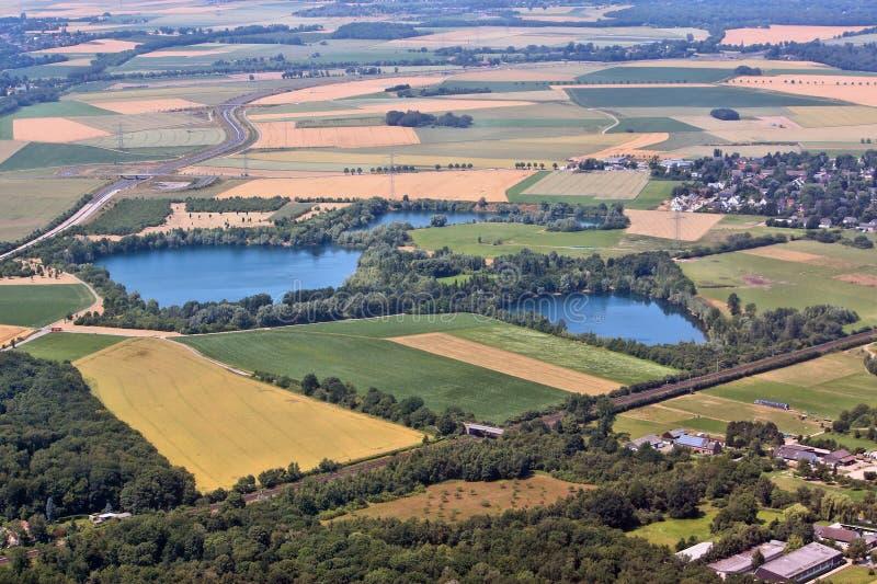 Wieś w Niemcy obrazy stock