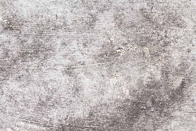 Wieśniak betonowa tekstura Popielata asfaltowej drogi odgórnego widoku fotografia Zakłopotana i przestarzała tło tekstura fotografia stock