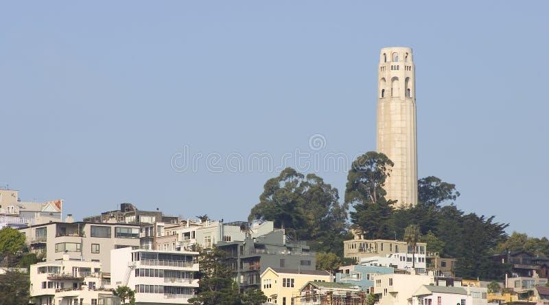 wieża coit zdjęcie stock