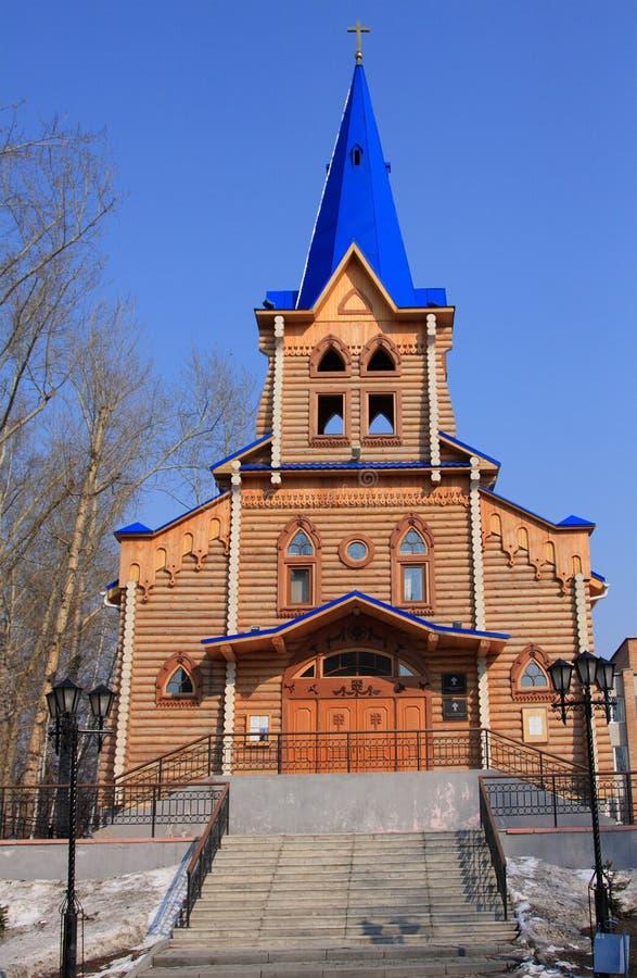 wieża drewna zdjęcia stock