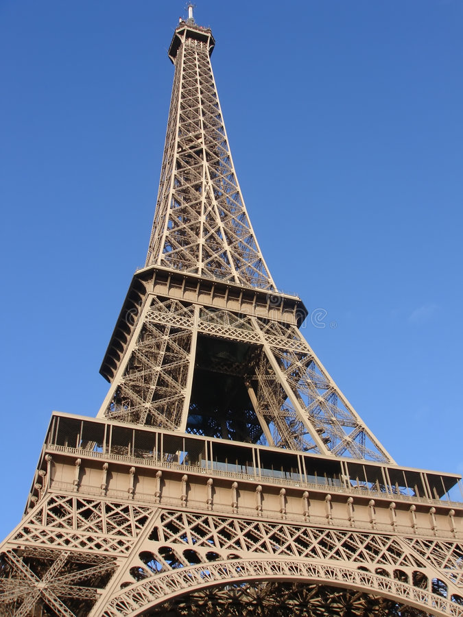 wieża eifel obrazy royalty free