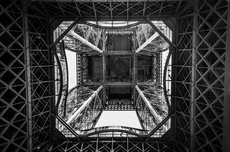 wieża eiffel Paryża fotografia royalty free