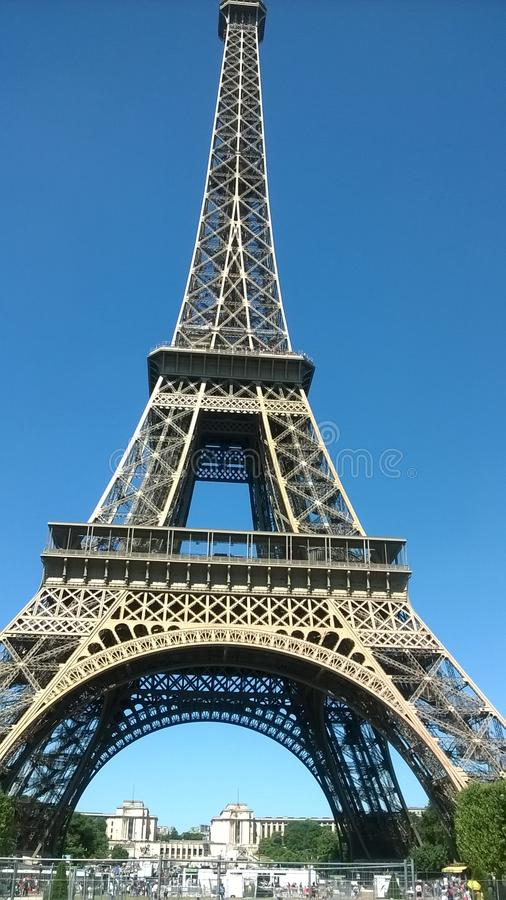 wieża eiffla fotografia royalty free