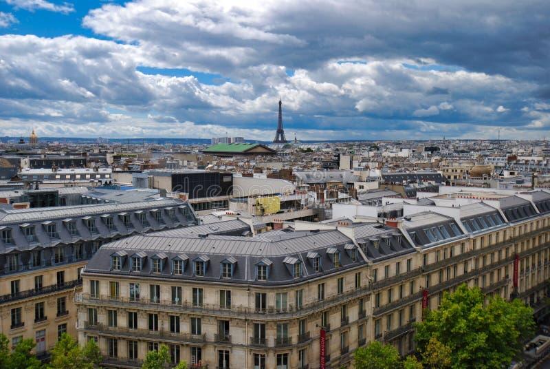 Wieża Eifla, palais garnier, miasto, obszar miejski, niebo, punkt zwrotny fotografia royalty free