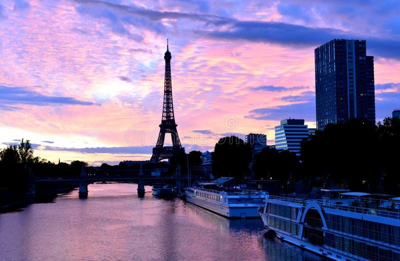 Wieża Eifla, Paris miasto, France zdjęcia royalty free
