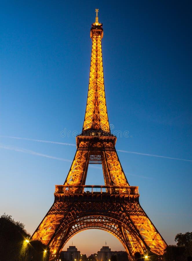 Wieża Eifla - Paryż obrazy royalty free